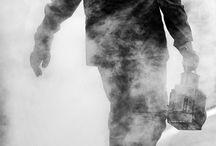 černobílé  fotografie