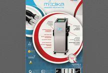 Ulotki / Leaflets / Tablica zawierająca ulotki MaxMedik.pl/ Our leaflets in Polish.