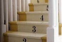 stairs / This knocker Board contains stairs. Here you can find all that I have liked, after many days of searching online, concerning stairs- those stairs, the stairs, vintage stairs, stairway, Stairs, stairways & More. You  can take a look at  my other boards -  home, coats, wedding gowns, drinks, doors ect...  / by Barbara Ray