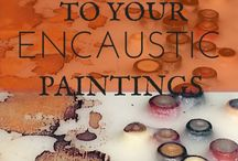 Encaustic Paintings:  All Things Encaustic / Visit us at allthingsencaustic.com  Gallery of encaustic paintings.  Want to join this board? Follow me then go to https://allthingsencaustic.com/encaustic-gallery/ - and add a comment with a link to your Pinterest profile. Happy pinning!