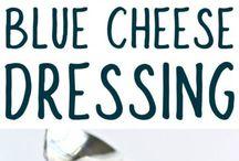Blue cheese  sauce.