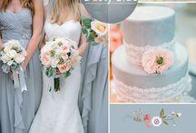 Сочетание цветов свадьбы