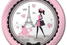 Paris Theme Birthday Party Decorations and Party Ideas / Ooh la la! Throw an amazing party for the Parisian fan in your family! We have put together a collection of our favorite Paris Party Decorations and other awesome ideas. Here are some great Paris party Pins and a collection of our most popular Paris Party Supplies, which can also be found at http://www.ezpartyzone.com/cat-paris-party-supplies.cfm