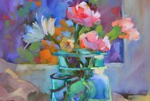 Favorite Flower Paintings / Favorite flower paintings by artists that I admire.
