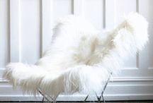 Ivory White Sheepskin Throw Rugs / A collection of images featuring Ivory White Sheepskin Throw Rugs...