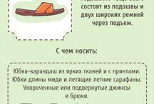 Обувь и с чем носить её