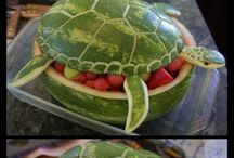 Creations out of food