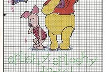 Winnie the pooh and Friends / Borduren