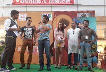 "Meet & Greet with the cast of ""Nee Jathaga Nenundali"" / Meet & Greet with Sachiin j joshi & Nazia Hussain at Cmr Central Vizag"
