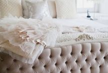 Bedroom Love / Romantic and whimsical bedroom design.