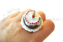 Sweets Miniature World by Tampinha / Polymer clay art jewelry, realistic minuature food by Joana Conde, the owner of Tampinha. Special detailed art, one of a kind. This work kawaii food jewelry is made with the use of polymer clay. You can see the work in the blog Tampinha Sweet Things in tampinhasweets.blogspot.com