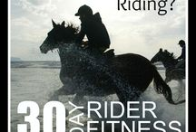 fitness for equestrians / All the best fitness tips and tricks for equestrians!