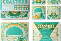 DIY Coasters / Ceramic Tile Awesomeness!! / by Debbie McCollough