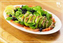 Leichte Salate und snacks