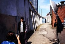 Behind the scenes / See pictures from our everyday life making Humör clothing