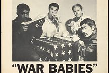 Ron Miyashiro. Artist. Chinards art school. War Babies. / A few pieces of art by, and photographs of, Ron Miyashiro.