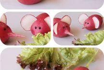 Drôles de légumes ! / Pour faire adorer les légumes aux enfants !