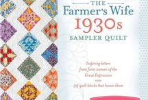 {Sew} Farmer's Wife 1930 / Farmer's Wife 1930 Sampler Quilt Ideas and Patterbs