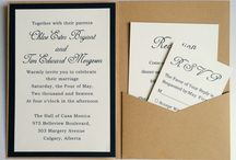 Invitations de mariage de poche