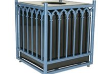 Decorative Trash Cans for Towns, cities and business developments