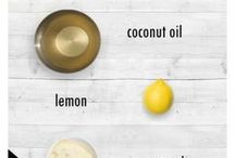 Coconut oil skin cleanser