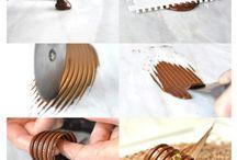 шоколадные украшения