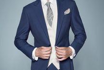 NOVIOS. COLECCIÓN 2015 PROTOCOLO / Últimas tendencias para novios. #BODA. La nueva colección de la firma PROTOCOLO está marcada por los trajes de corte 'slim'. Los tonos grises, azules y el color negro son los protagonistas de la actual moda nupcial.   www.protocolonovios.com