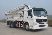 European Concrete Pump Trucks / Talking about Building Construction,a Concret Pump Truck,will be necessary too...very,very necessary indeed.