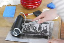 Linocut & Letterpress