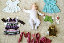 Ideias de fotos bebê