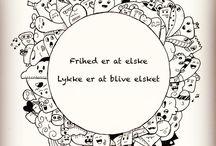 Doodle / Mine doodles tegninger