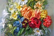Silk Ribbon Embroidery / by Ronda Hall
