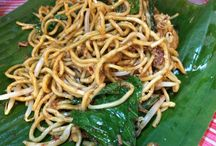 マレーシア / マレーシア、クアラルンプール。屋台の食事。