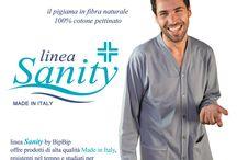 Pigiami sanitari / Una linea di pigiami dedicati a chi deve essere ricoverato, chi ha subito un intervento o per i lungo degenti