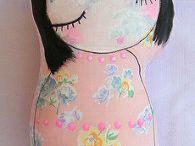 Hračky - panenky - art