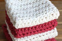 Crochet: dishcloth