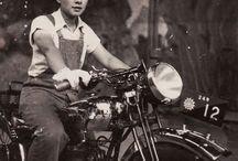 Female Vintage Riders