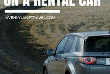 Tips to rental car