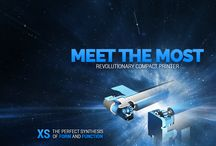 """XS, the smallest printer on market / XS by APS Group, the perfect synthesis of form and function!  XS sets the new standard for 2"""" thermal printer compacity. XS comes with the most simple costruction ever achieved for low voltage 2"""" thermal printer mechanism.  Check details on http://aps-printers.com/XS"""