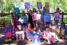 Kids Kansas City Painting Party