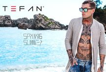 Campaign Spring Summer 16 / Stefan & Stephen James Walk The Line SS16 campaign