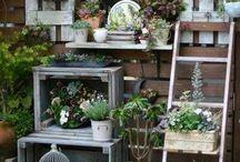 Vintage Garden Decor