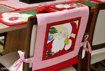 capa pra cadeira/natal