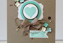 handmade cards ideas / Handmade card ideas  / by Lisa Barton The Midlife Midwife