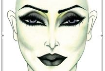make up-costumes