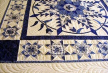 Blue & white quilts / by Donna Richardson