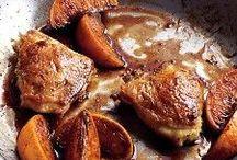 chicken / gourmet food