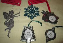 Memorial Christmas ornaments