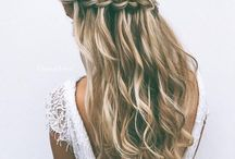 H A I R S T Y L E S / #hair #inspiration #weddinghair #hairstyles