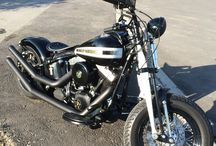 Harley-Davidson Cross Bones 2008 / Old School Custom Bopper